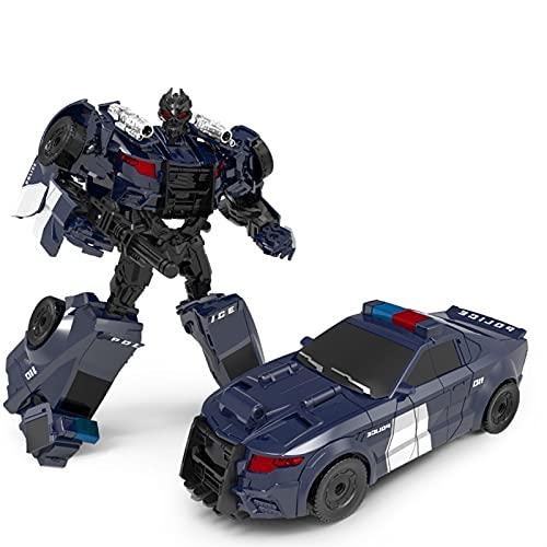 GYTH Transformers Toys Studio Serie Optimus Prime Bumblebee Ironhide Starscream Transformers Figuras de acción Deformación colectible Juguetes para automóviles para niños ( Size : A ) ⭐