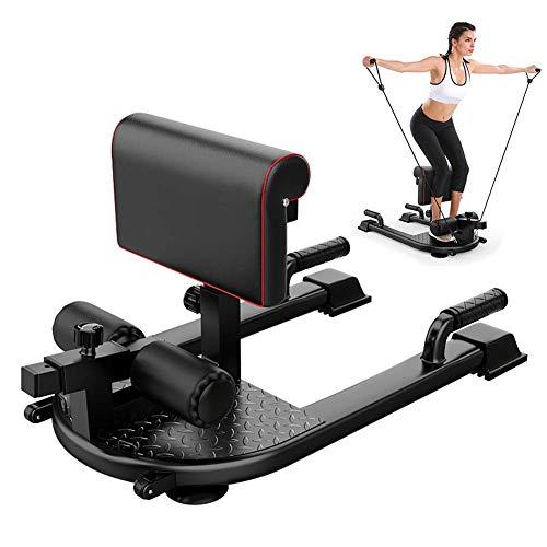 AMAIRS Sissy Squat Machine, Multifunktionales Squat-Gerät Sit-up Squat Rack Bauchmuskeln Umfassende Trainingsausrüstung