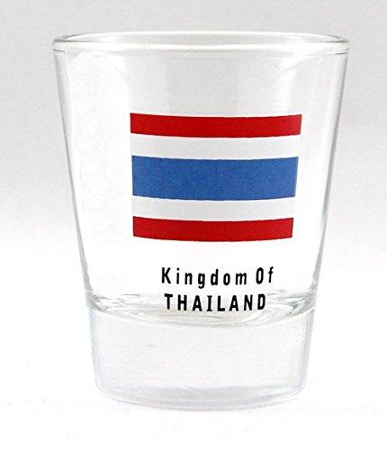 Thailand Flag Standard Size Shot Glass