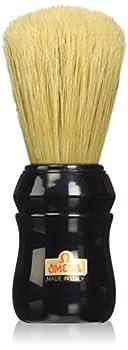 Omega Pure Bristle 10049 Shaving Brush Black
