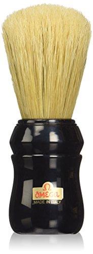 Omega Pure Bristle 10049 Shaving Brush, Black
