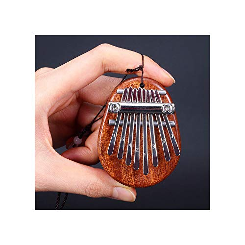 WWZL Piano de Pulgar de 8 Tonos Mini Kalimba con Cordón, Piano de Dedo Portátil, Regalo para Niños Principiantes