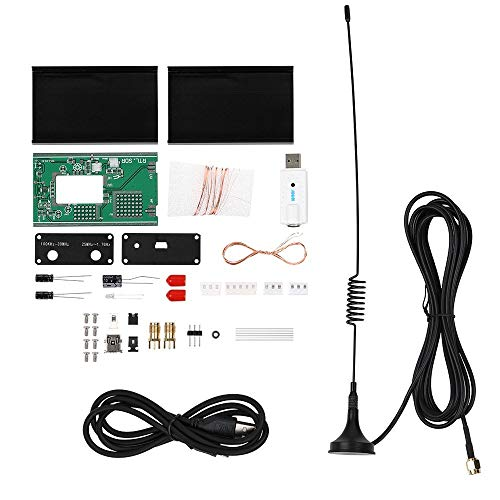 DIY 100KHz-1.7GHz Full Band UV HF RTL-SDR USB Tuner Ontvanger DIY Kits U/V Antenne Moederborden