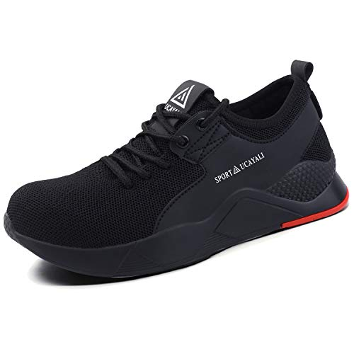 UCAYALI Zapatos de Seguridad con Punta de Acero para Hombre Mujer Zapatillas de Trabajo...