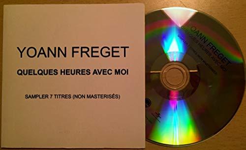 Yoann FREGET - Quelques Heures Avec moi - 7-trk - CD - PROMOTIONAL ITEM