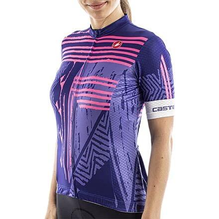 CASTELLI Astratta Jersey T-Shirt Donna