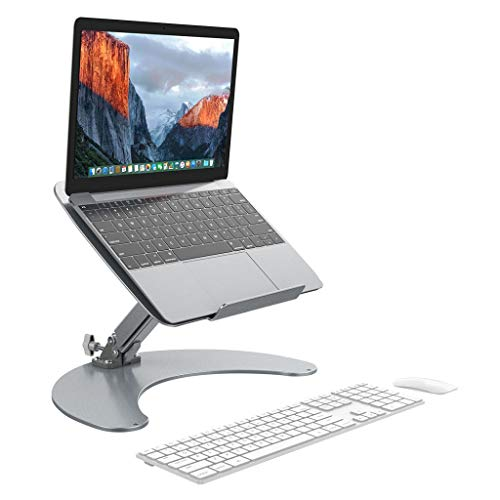 Slypnos Adjustable Height-and-Angle Laptop Stand