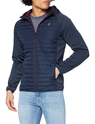 Jack & Jones Jjemulti Quilted Jacket Noos Chaqueta, Azul Marino, M para Hombre