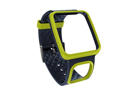 TomTom Comfort Strap - Accesorio para Relojes Runner Multi-Sport, Color Negro y...