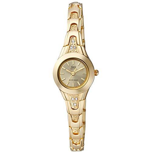 Q&Q Reloj de mujer moderno F623J010Y estándar analógico de cuarzo japonés movimiento