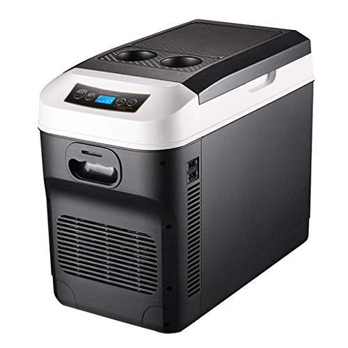 XXRUG Mini Car Kühlschrank, 28 Liter Dual-Core Mini-Kühlschrank Baukompressor Gefrierschrank Minibar Büro Zu Hause Essen Trinken Kosmetik Kühlbox Hautpflege