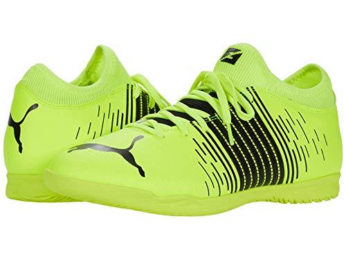 PUMA Men's 10639301 Soccer Shoe, Yellow Alert Black White,...