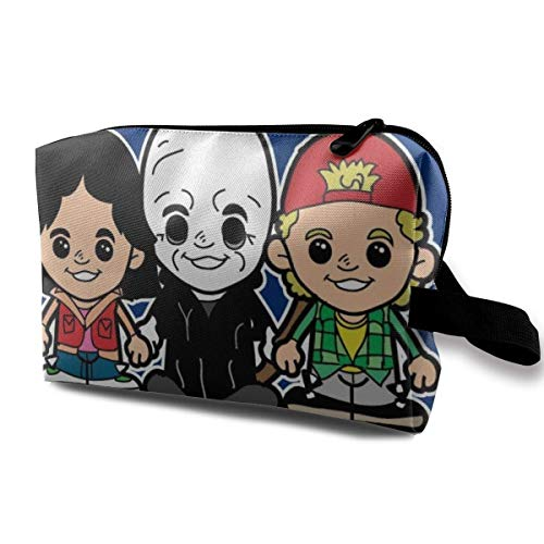 Makeup Bag Cosmetic Pouch Bill and Ted Bogus Cartoons Multifunctional Bag Travel Kit Storage Bag