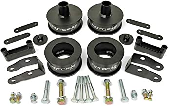 MotoFab Lifts 2.5 inch Front 2 inch Rear Full Lift Kit compatible with Jeep Wrangler JK with Shock Extenders