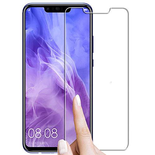 3 piezas Vidrio templado, para Huawei Honor 7A 7C Pro Y9 2019 Y5 Y6 Prime 2018 9x 8x Protector de pantalla Película protectora Vidrio-Por honor 9X