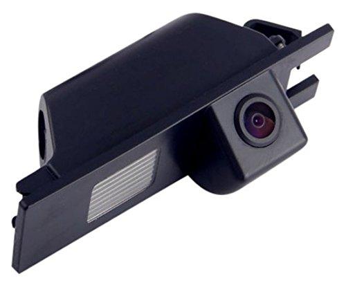 Akhan CAM24-5 - Farb Rückfahrkamera, Einparkhilfe, Kamera für Nummerschildbeleuchtung, Kennzeichenbeleuchtung