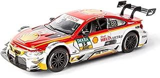 PXX Coche modelo del coche 1: 32M4 DTM Rally Racing Simulation aleación 15X6X4Cm joyería juguete adornos de colección de los deportes de coches de fundición a presión,Rojo y blanco