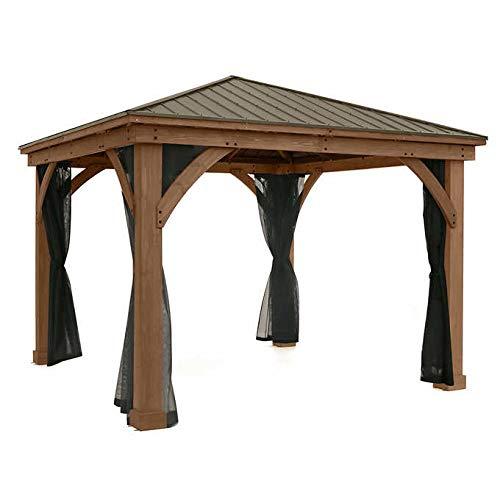 ANTONIO CABRERA HOME COLLECTION Gazebo Mosquito Mesh Kit for 12x14 Wood Gazebo