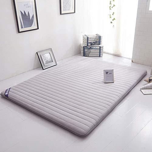 DJQ Foldable Tatami Mattress Sleeping Mat Thick Mattress Tatami for Home Floor Student Dormitory Bed Matrress Topper Gray 120x200cm (47x79inch)