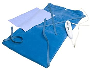 MaxHeat by SoftHeat Deluxe Heating Pad Moist/Dry King Size 12-Inch by 24-Inch HP950-12-3P-S