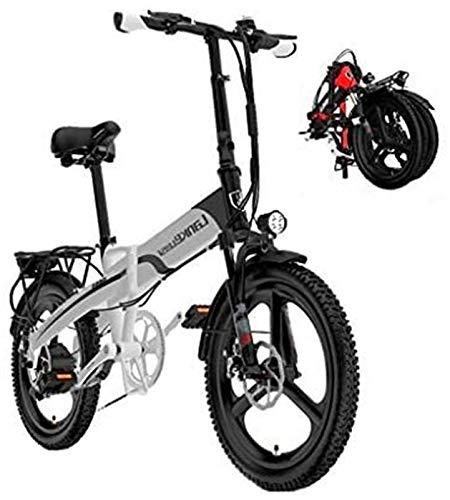 Bicicletas Eléctricas, Adultos Electric Bike, Urban plegable de cercanías E-bike, Velocidad máxima...