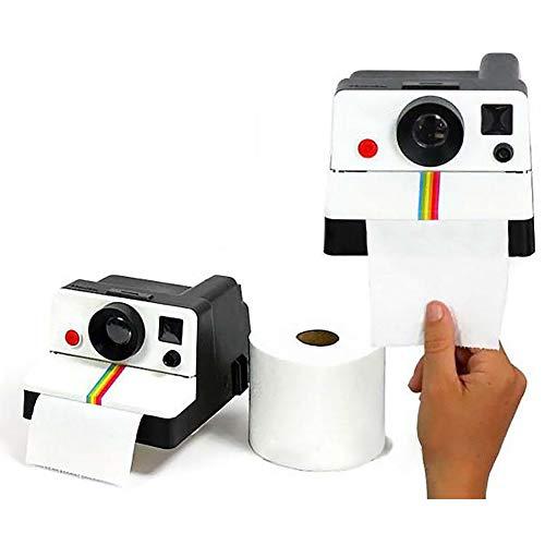 linjunddd 1pc Gewebe-Halter-kreatives Design Kamera-Shaped Toilettenpapier Box Retro Gewebe-rollenhalter Abdeckungen Kamera Toilet Tissue Box Für Heim Und Büro