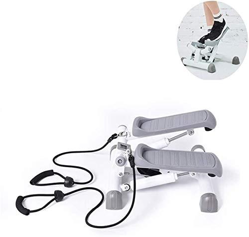 Fitness Stair Stepper, máquina de pedal de bicicleta elíptica para uso doméstico u oficina, máquina de ejercicios para entrenamiento de cuerpo completo, monitor de pantalla incorporado - Whisper-Slim