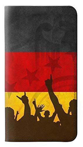 Innovedesire Germany Football Soccer Flag Flip Hülle Tasche Klappetui für Huawei Nexus 6P