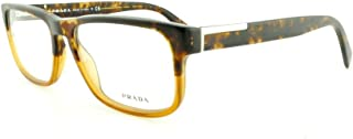 Prada PR07PV Eyeglasses-RO3/1O1 Spotted Black On Matte Gray-56mm