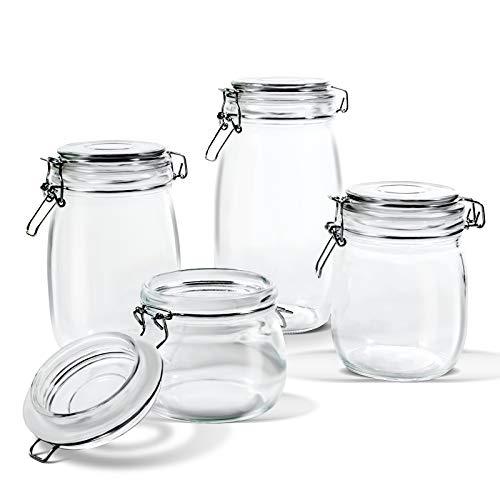 4-Piece Glass Preserving Jar Set Now $5.88 (Was $20)