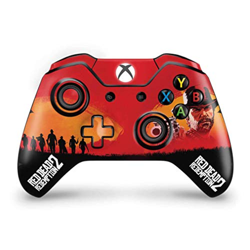 Skin Adesivo para Xbox One Fat Controle - Red Dead Redemption 2