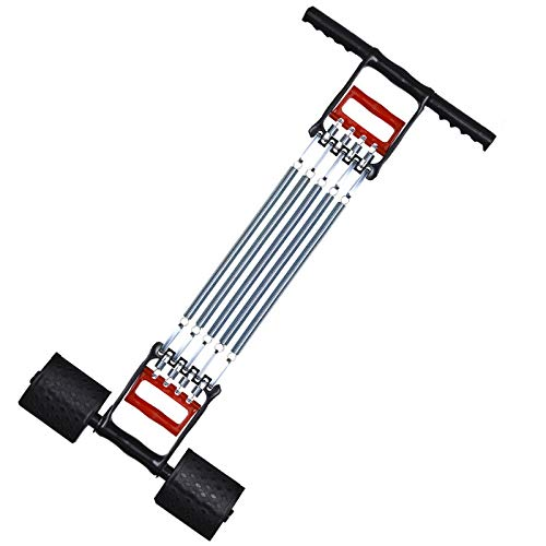 3 in 1 Arm Abdomen Expander Strength Trainer for Home Gym Workouts, Chest Expander Springs, Power Twister Arm Bar Shoulder Heavy Duty Arms Exercises Upper Training, Strength Resistance Band