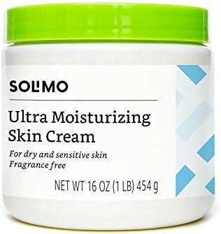 Amazon Brand Solimo Ultra Moisturizing Skin Cream, 16 Ounce