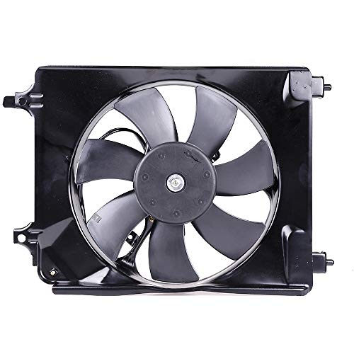 condenser cooling fan civic - 5