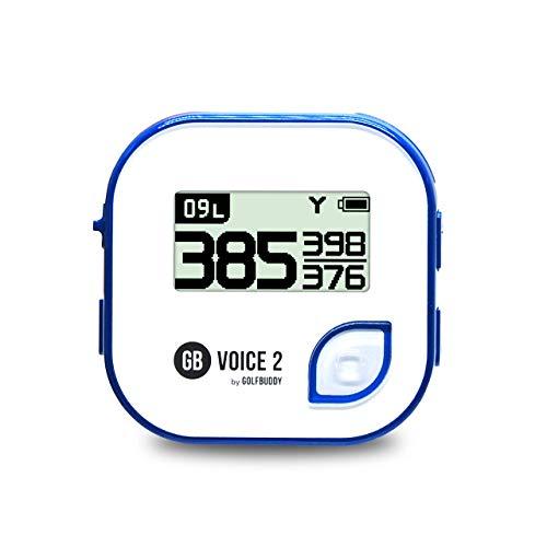 【GOLFBUDDY(ゴルフバディー)】 GB VOICE2 NAVY BLUE 音声型 GPS 距離測定器 (日本正規品)