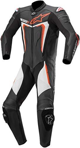 Alpinestars Motegi V3 Tuta in moto un pezzo Nero/Bianco/Rosso 48
