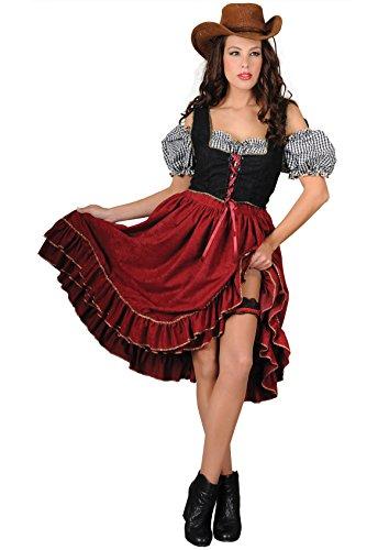 chiber - Disfraz Vaquera Chica Saloon