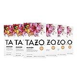 Tazo Herbal Tea Tea Bags For a Refreshing Beverage Passion Caffeine-Free 20 Tea Bags, Pack of 6
