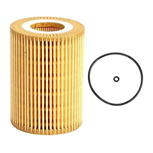 WANSHIDA QIQI Shop Filtro de Aceite del Motor Ajuste para Mercedes-Benz W164 W166 W211 W212 R251 Sprinter Fit para Jeep Grand Cherokee A6421840025 / A6421800009 (Color : Yellow)