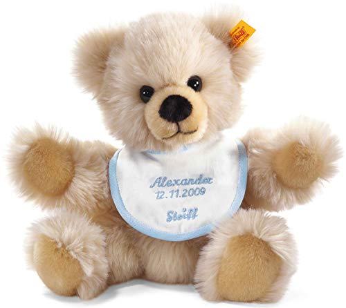 Steiff 014208 - Teddybär zur Geburt individuell mit gesticktem Namen