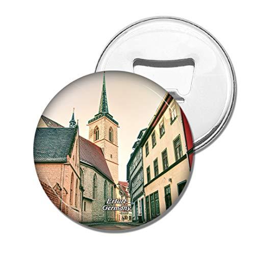 Weekino Deutschland Thüringen Erfurt Bier Flaschenöffner Kühlschrank Magnet Metall Souvenir Reise Gift