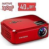 ManyBox Mini Projector, 3500 LUX Portable Video...