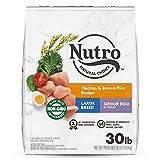 NUTRO NATURAL CHOICE Large Breed Senior Dry Dog Food,...
