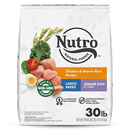 NUTRO NATURAL CHOICE Large Breed Senior Dry...