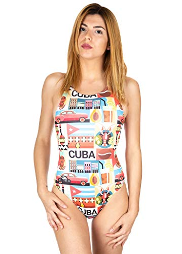 Turbo badpak Intero Cuba Girl - L