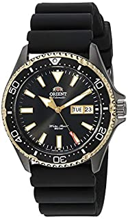 Orient Men's Kamasu Stainless Steel Japanese Automatic Diving Watch with Silicone Strap, Silver, 22 (Model: RA-AA0005B19A) (B07QHN9D48) | Amazon price tracker / tracking, Amazon price history charts, Amazon price watches, Amazon price drop alerts