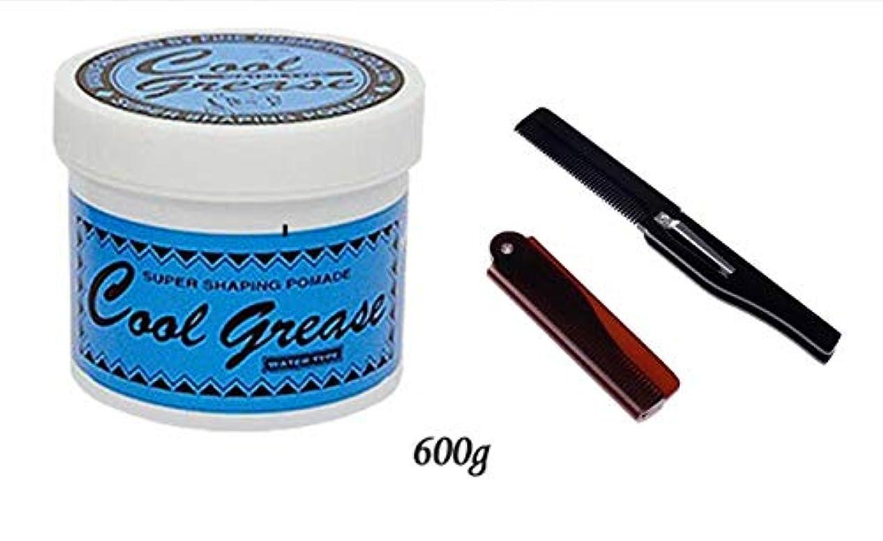 オゾン扱いやすい注入【コーム付き】阪本高生堂 クールグリース G ジャンボ 600g ライムの香り