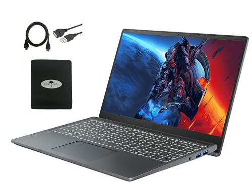"""2021 Newest MSI 14"""" FHD Ultra Light Laptop, 1080P IPS Thin Bezel Display, 10th Gen Core i3-10110U Up to 4.1GHz(Beat AMD 3250U), 16GB RAM, 512GB SSD, Backlite Keyboard, HDMI, Win10, w/GM Accessories"""