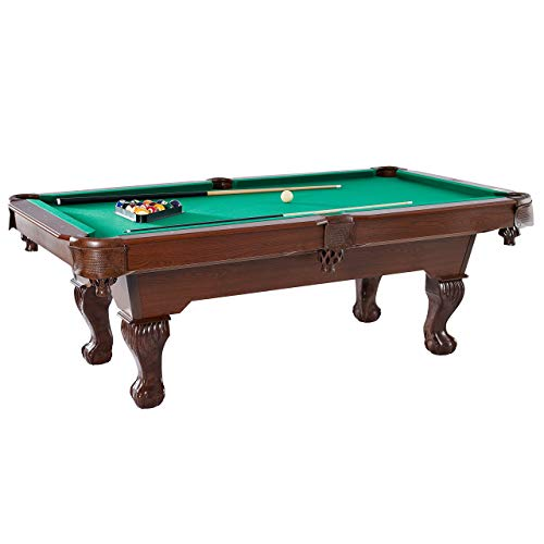 "Barrington Springdale 90"" Billiard Table Set with Cues, Rack, Balls, Brush, and Chalk (23 Pieces)"