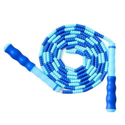 Xrlwood Hombres Mujeres Suave Moldeado de Saltar la Cuerda Niños Gratis segmentado Aptitud Skipping Rope Deportes Suministros